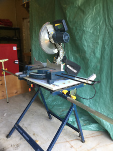 "12"" Mitre Saw and Work Centre Stand"