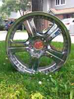 18 Inch Chrome Rims - FOR SALE.