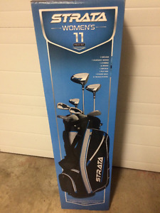 BRAND NEW! CALLAWAY 11 piece Ladies Golf Set-Complete with Bag
