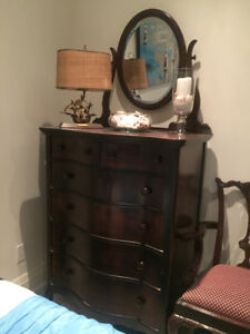 His and Hers Antique Dressers