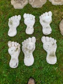 Garden stone ornaments