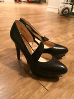 Brand New Nine West leather heels