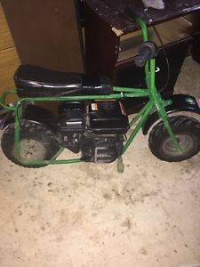 212cc Mini Bike with Month old Motor!