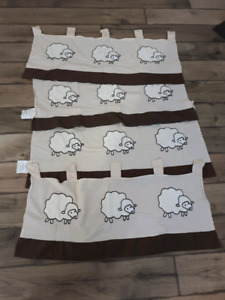 Sheep theme nursery decor