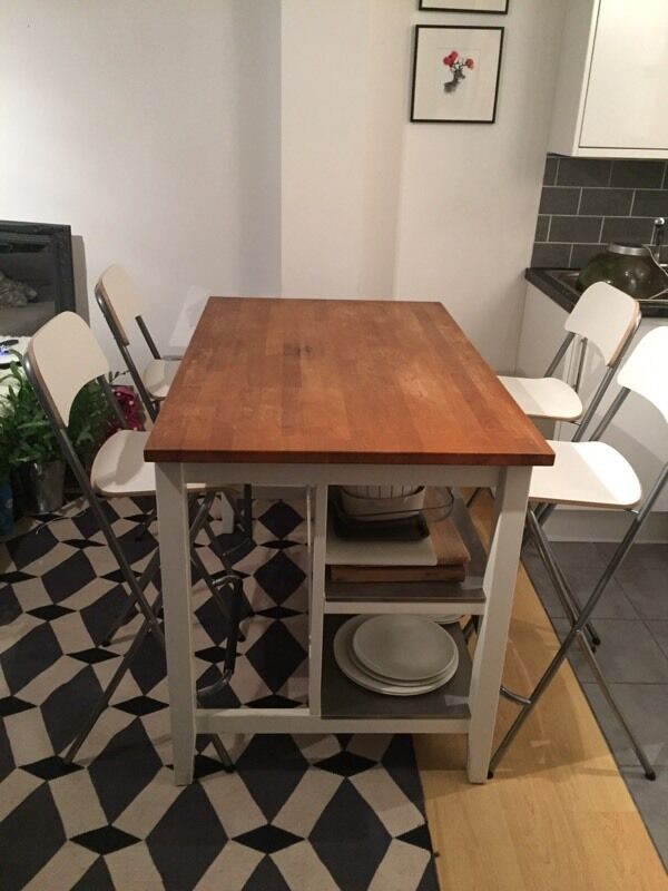 Ikea Stenstorp Kitchen Island Breakfast Bar