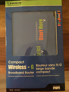 Linksys Compact Wireless G Broadband Router WRT54GC