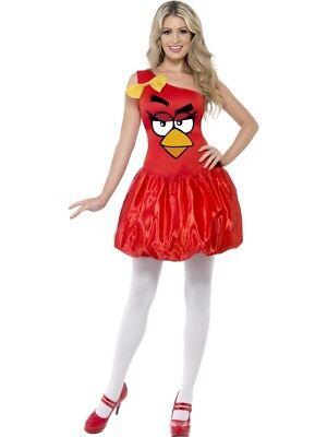 Angry Birds Kleid Damen Kostüm rot Vogel - Angry Birds Roter Vogel Kostüm
