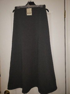 Winter Maxi / Longer Skirt, Stretching Waistline