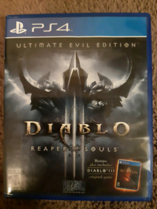 Diablo III Reaper of Souls Ultimate Evil Edition for PS4