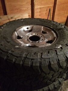35x12.5R17LT Toyo open Country on Dodge 8 Bolt Rim Strathcona County Edmonton Area image 1