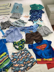 37pieces used BOYS SUMMER CLOTHES 18MONTHS EXCELLENT CONDITION Kitchener / Waterloo Kitchener Area image 6