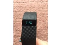 Black Fitbit charge HR