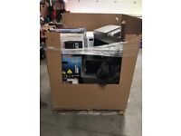Approximately 20 raw untested microwaves spares or repairs