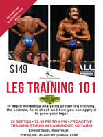 TIRED OF SMALL AND/OR FLABBY LEGS?