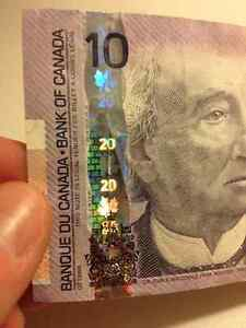 RARE ERROR NOTE - Wrong Security Features...SOLD Kitchener / Waterloo Kitchener Area image 1