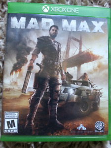 Mad Max X-Box One game