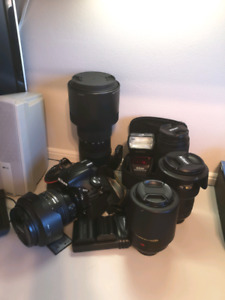 Nikon and accesories for sale
