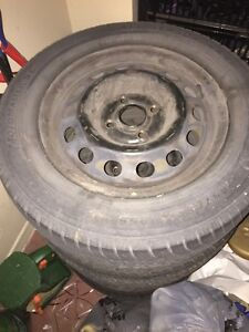 Tires and rims for Honda civic $100
