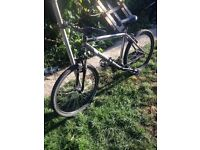 "Saracen mountain bike 26"" wheels not carrera gt trek road bike commuting"