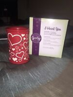 Used I heart you scentsy warmer