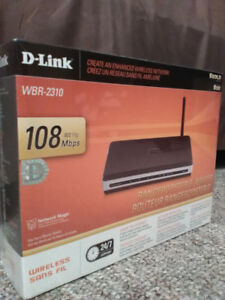 D-Link WBR-2310 RangeBooster G Router - BRAND NEW (SEALED)