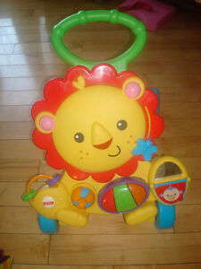 Fisher Price - Musical Lion Activity Walker
