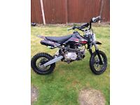 M2R 110cc pit bike and gear