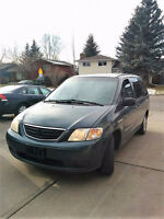 2001 Mazda MPV DX Minivan, Van***PRICE REDUCED***