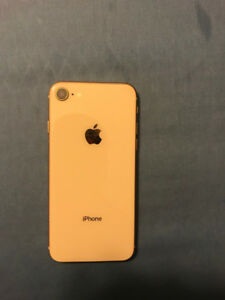 iphone 8 64 gb mint condition gold