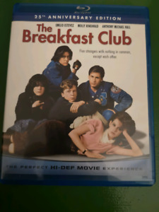 THE BREAKFAST CLUB 25TH SPECIAL EDITION BLU RAY