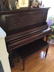 Upright antique piano - $150.00