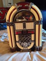 Mini juke box for sale. Good condition!