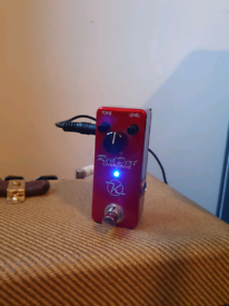Keeley Red Dirt Mini Overdrive Guitar Pedal
