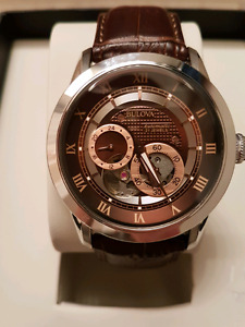 MENS BULOVA AUTOMATIC WATCH. NEW IN BOX WITH TAGS!!