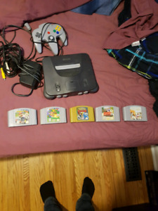 N64 nintendo 64 bundle sale or trade