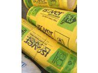 Loft insulation £10 per roll