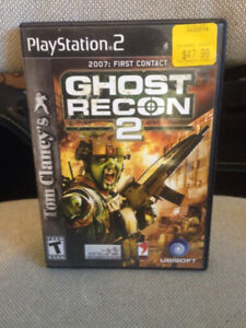 PS2 Ghost Recon game