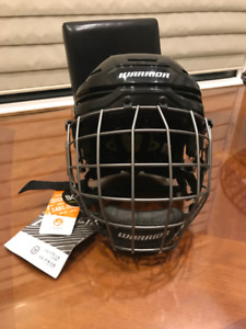Brand new, hockey helmet & cage for less than half of retail