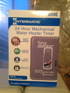 NEW Electric Hot Water Heater Timer