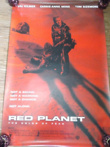 """Red Planet (2000) (Double Sided) 27""""x40"""" Movie Poster"""
