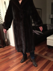 Woman's Full Length Mink Coat