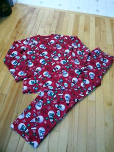 Fleece Christmas PJ's. Size 14