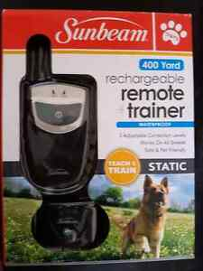 Brand New Sunbeam Rechargeable Remote Trainer