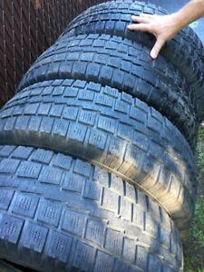 225/75r16 4 pneus hiver COOPER DISCOVER  260$