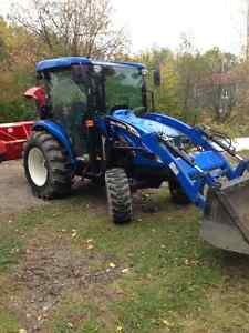 new holland 45 forces REMORQUE A DONNEE AVEC VAL 2500.00$