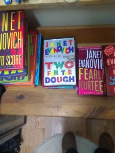 24 Janet Evanovich books