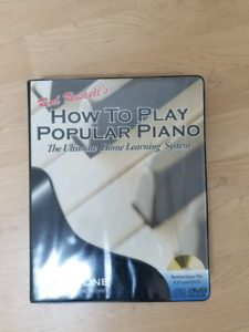 Learn to play piano at home