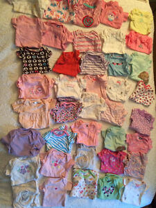 Huge lot of newborn baby clothing. 100 items!