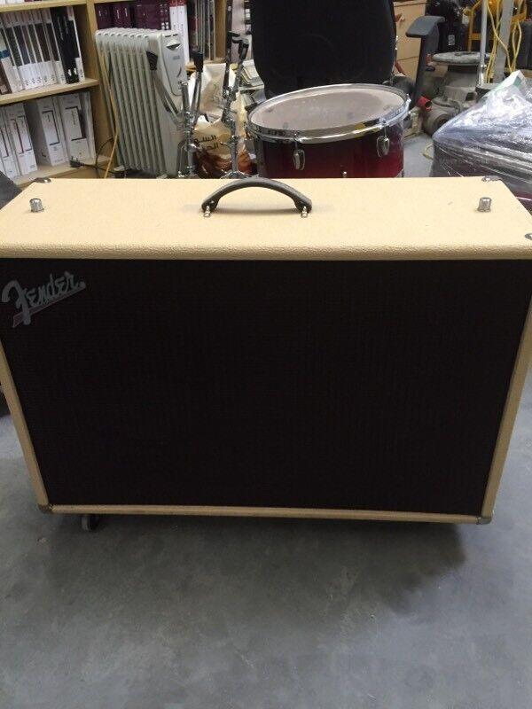 Fender 2x12 Supersonic Speaker Cab Will trade for Fender, Vox, Marshall see description