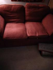 1 armchair, 2 two seater sofas
